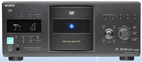 dvd500changer1 400 Disc DVD Changer Houses Your Whole Movie Library