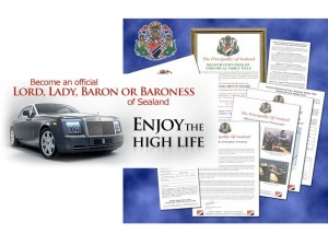 baronness 300x225 Become a Lord, Lady, Baron or Baroness for $10