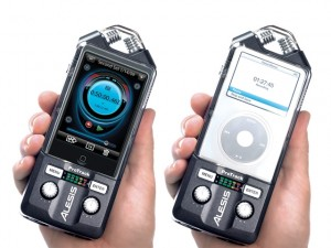 alesis 300x225 ProTrack Stereo Recorder Transforms the iPod Touch in to a Serious Field Recorder