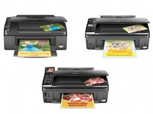 epsonnew 300x225 New Affordable Epson Stylus NX Series Printers Announced