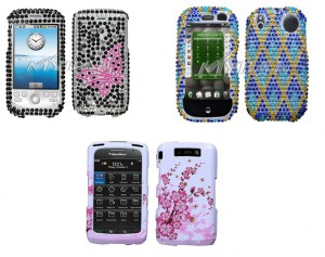 mybat1 300x237 Mybat Palm Pre, BlackBerry, and MyTouch 3G Rhinestone Cases and Accessories