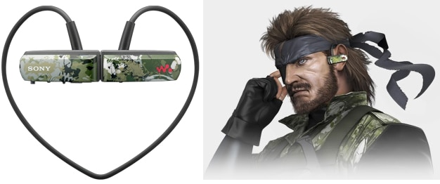 metal Metal Gear Solid Walkman Series W Review