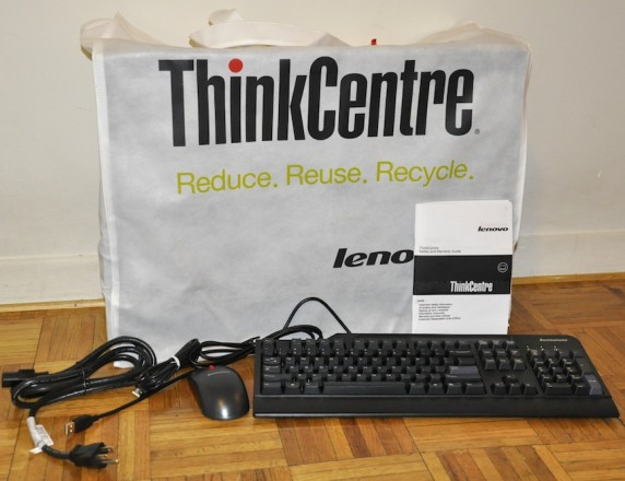 DSC0015 572x440 Lenovo ThinkCentre M90z Multi Touch All In One Review