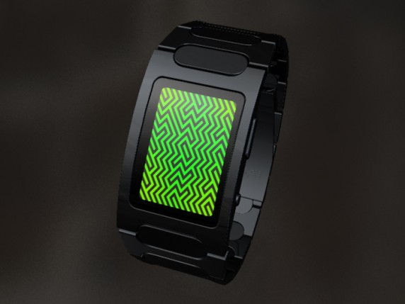 front2 572x429 TokyoFlash Optical Illusion LED Watch Concept Requires Dramamine