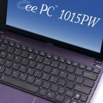 1005PW keypad 150x150 Asus Eee PC 1015PW Fashion Netbook Makes Waves