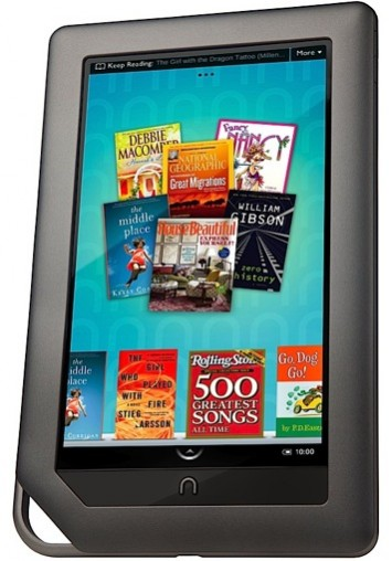 Nook Color 355x508 Home Run Gifts for the Hard to Impress Techie