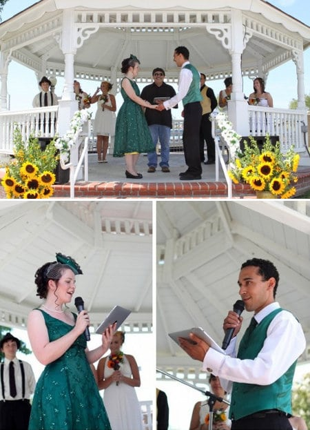 ipad wedding 1 How These Geeks Professed Their Love and Yes, We Know One of Them