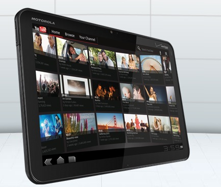 xoom2 Motorola and Verizon Announce the Motorola XOOM Tablet