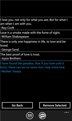 411700c4 ed99 4112 9319 03042b1e75fd Windows Phone 7 App of the Week: Woo Your Valentine with the Love Quotes