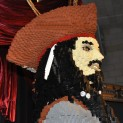 DSC0143 123x123 Jack Sparrow aka Johnny Depp Becomes a Lifesize LEGO Sculpture