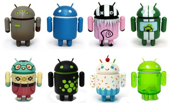 Android Series 2 572x339 Android Series 2 Vinyl Mascot Figures Go On Sale