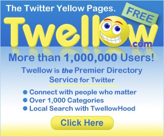 Twellow Ten Simple Twitter Tools to Make you a Super Tweeter