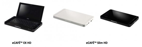 ecafe2 572x189 Hercules Releases the eCAFÉ Slim HD, the Thinnest Netbook Yet