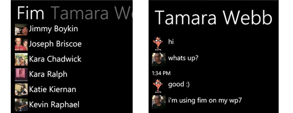 FIM Windows Phone 7 App of the Week: FIM Enables Rampant Facebook Chatting Like Never Before