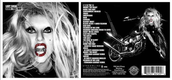 289653652 572x267 Move Over Bin Laden, Lady Gaga Drops Her Song list On Twitter