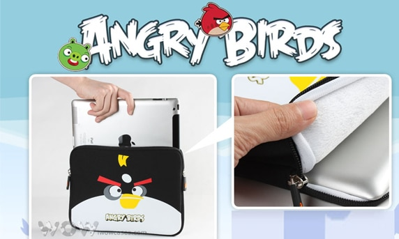 2a63ec669366330ba0646378a6432e6c.980x622 New Angry Birds iPad 2 Sleeves Are You a Pig King? or an Angry Bird?