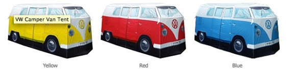 camper 572x146 VW Camper Van Tent Makes You Feel Like California Dreamin