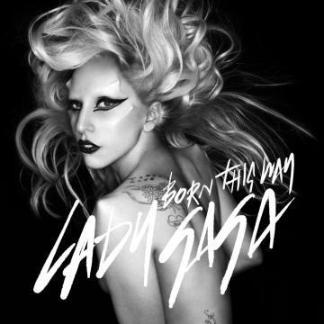lady gaga born this way cover1 UK Will Hear Lady Gagas Born This Way Album 5 Days Early Online