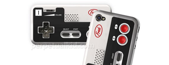 nintendo iPhone 4 Goes Retro With Nintendo Controller Case