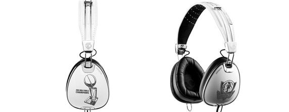 headphones Skullcandy Debuts Limited Edition NBA Championship Dallas Mavericks Headphones