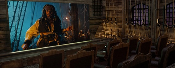 pirates Super Fan Spends 2.5 Mil on Pirates of the Caribbean Home Theater