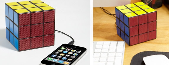 rubiks Rubiks Cube Speaker Solves Audio Troubles, Not Puzzles