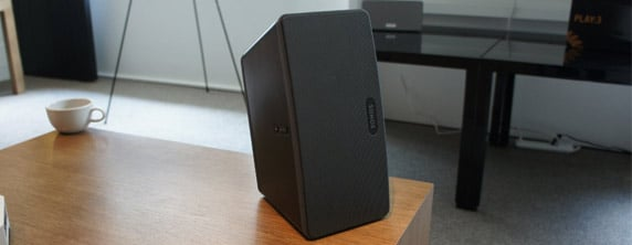 sonos Hands on With the Sonos Play:3 All in One Wireless Speaker