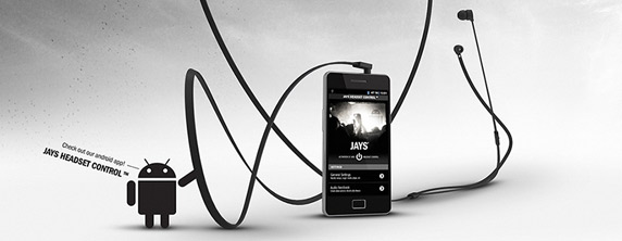 jays a JAYS One+ Headphones Comes with a Dedicated Android App