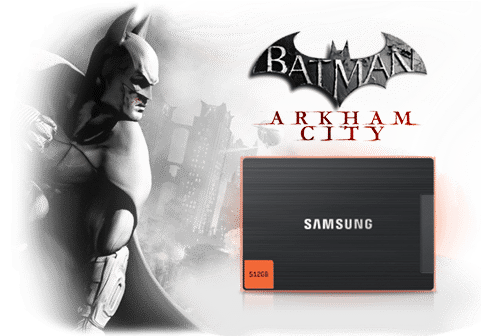 SSDBatman topicmarquee 481x336 Samsung Bundling Batman: Arkham City Game with New SSDs