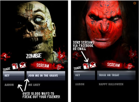scream 572x420 iPhone App of the Week: NameScreamer is the Must Have App This Halloween