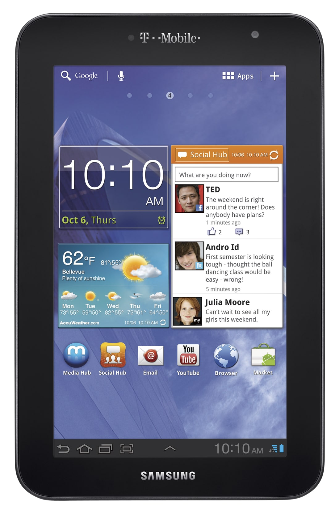 Samsung Galaxy Tab 7.0 Plus_Hero_front