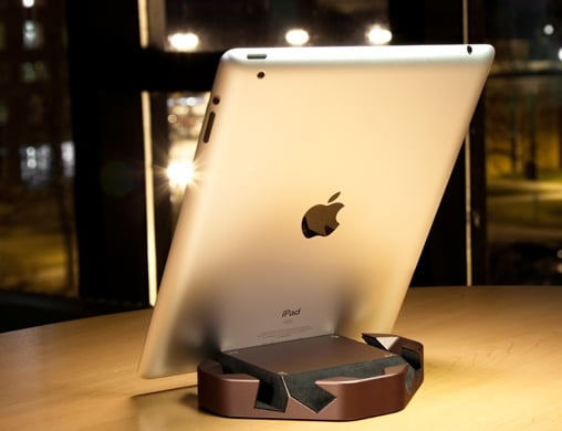 wedge1 ColorWare Drives a Wedge Between You and Other iPad Stands