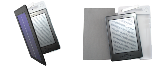 SolarKindle 572x238 SolarKindle cover gives your Kindle 3 months of sun juice