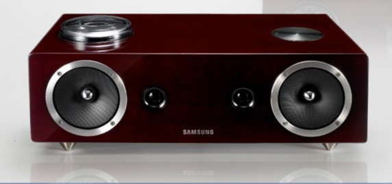 audios 572x269 Samsungs Sexy DA E750 Audio Dock Handles Both Galaxy S II and iPhone