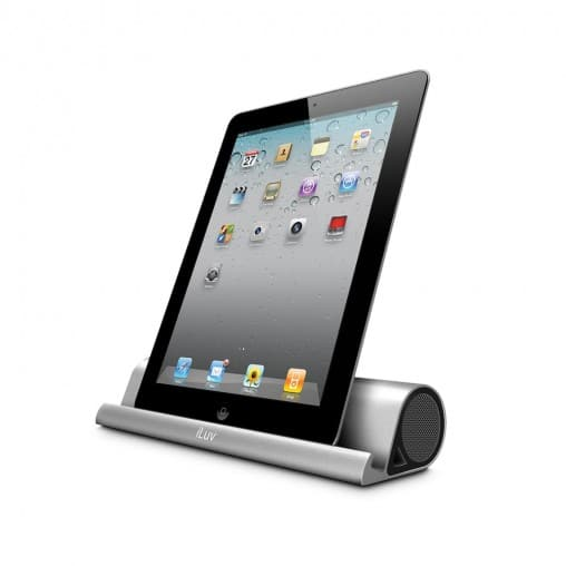 iSP245 508x508 Get Your Mojo on With iLuvs Mo Beats Wireless Speaker Stand for iPad