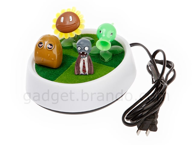 GGLED009600 08 L Plants Vs. Zombies USB Lamp is Far From a Bright Idea