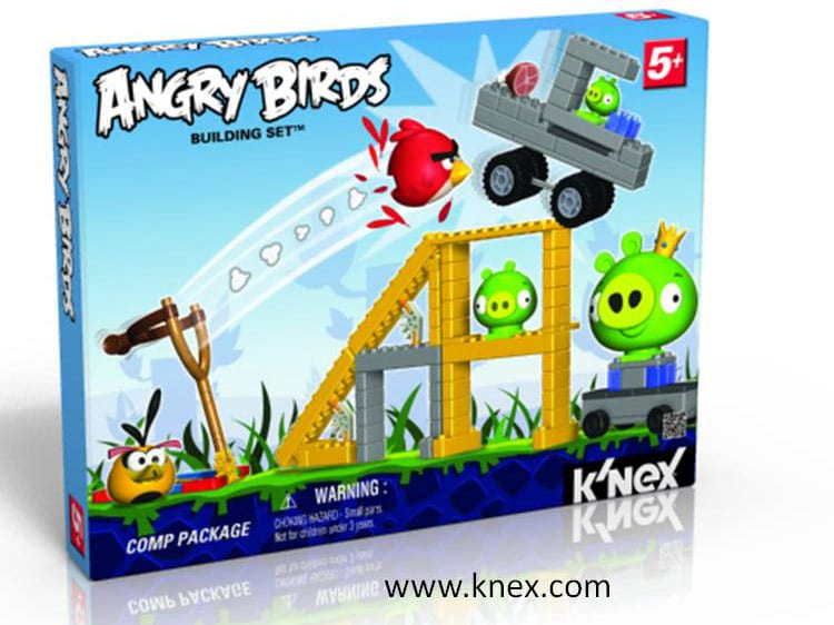 KNEX Angry Birds PKG Prototype2 Yet ANOTHER Angry Birds Product, This Time Building Sets from K'NEX