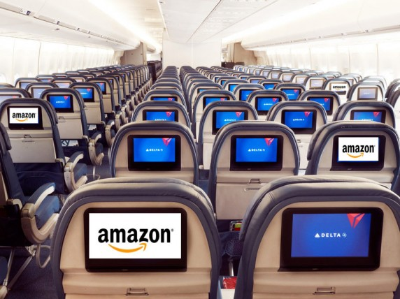delta Amazon 572x428 Amazon and Delta Join the Mile High Club