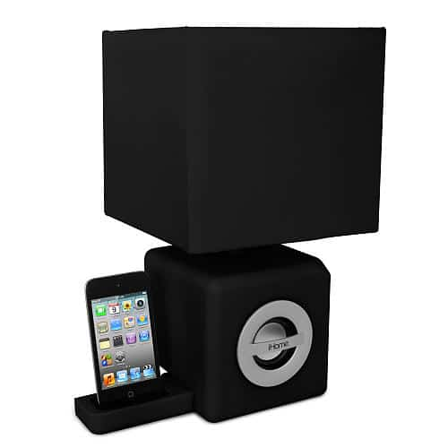 pTRU1 12447052dt iHome Ambient Lamp and iPod Speaker Dock Combo is Pretty Ugly
