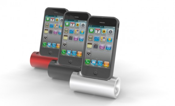 lilkikr 572x347 Give Your iPhone a Lil Kikr with This Amplifying Dock