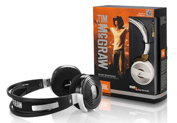 headphones1 Tim McGraw Brings a Little Southern Comfort to JBLs Artist Series Headphones