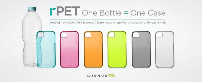 image001 Case Mates rPET iPhone 4 Cases Will Quench Your Thirst