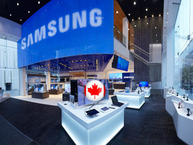 samsung canada Samsung to Open Up Retail Store in Canada   Eh!