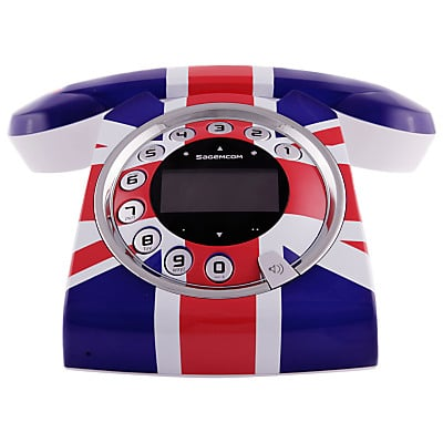 Even the Sagemcom Sixty Union Jack Phone Wont Make the Queen Smile