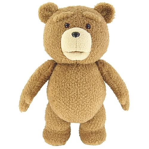 AUTOIMAGES CW94064Rlg Ted Plush Doll is Ready to Be Your Thunder Buddy for Life