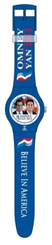 NY59013 Watches Get Political with the Romney   Ryan Believe in America Timepiece
