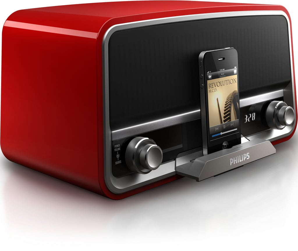 philips original radio is retro on the outside but modern. Black Bedroom Furniture Sets. Home Design Ideas