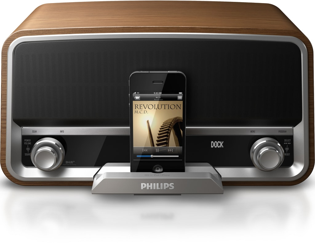 Philips Original Radio is Retro on the Outside, but Modern on the Inside