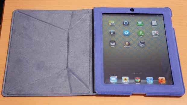 DSC00024 620x350 IPEVO Origami Folio Case & Stand for iPad 3 Review