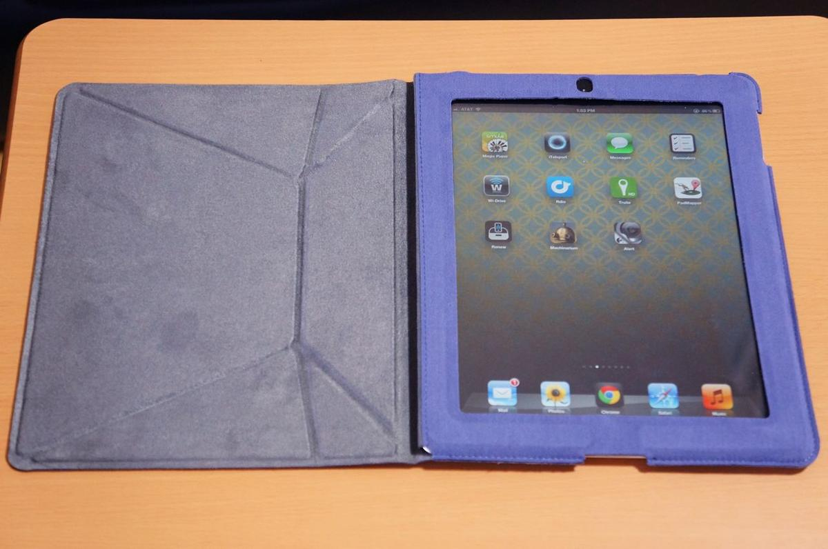 DSC00024 IPEVO Origami Folio Case & Stand for iPad 3 Review
